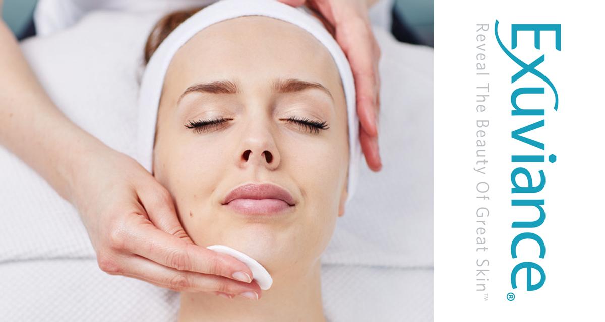 exuviance dyprense behandling fet hud